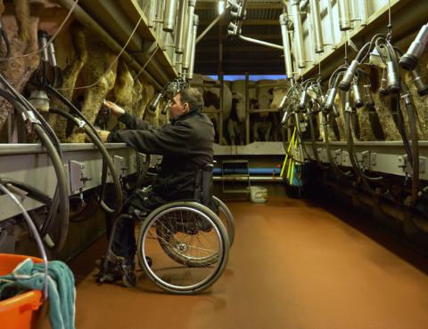 Handicap et Entreprise : ça tourne ! – GAEC Chemin de l'Espoir