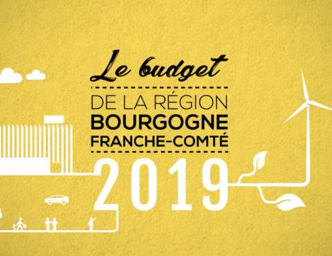 Région BFC Budget 2019